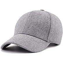Gisdanchz Gorras De Invierno Mujer,Gorra Beisbol Hombre,Winter Visor Hats for Men Fashion