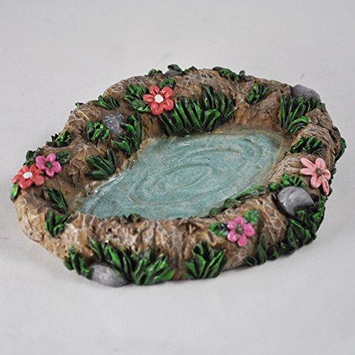 Fairy Garden UK Teich Dekoration Garten Miniatur Home Decor–Elfe Pixie Hobbit Zauberhafte Geschenkidee–Länge: 14cm