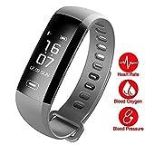 Fitness Tracker,Fitness Armbänder mit Aktivitäts Tracker,Erinnerung an Nachrichten,Schrittzähler,Kalorienzähler,Entfernungsmesser,IP67 Wasserdicht 0.96 OLED Bluetooth Smartwatch