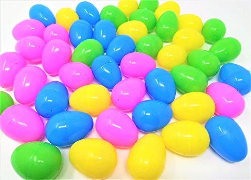 48 Osterfüller Fillable Eier, jedes Ei: 6x4cm, hält Creme-Ei (Ei Halt)
