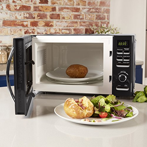 Tower T24019 Infinity Digital Solo Microwave with 6 Power Levels, 8 Auto Cook Options, 60 Minute Timer, Defrost Function…