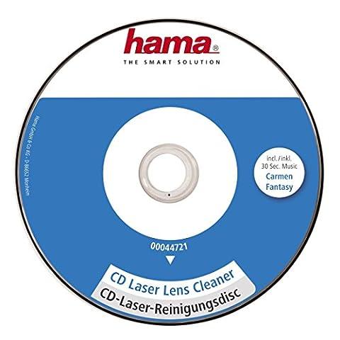 Hama 44721 Disque nettoyant pour cellule de platine laser