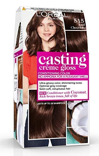 L'Oréal Paris Casting Crème Gloss Coloration Ton Sur Ton Sans Ammoniaque 5.35 Chocolat Lot de 2
