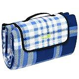 Beautissu BellaPa Picknickdecke wasserdicht 200x200 cm Ultraleicht XXL Campingdecke wasserabweisend und isoliert