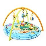 JYSPORT Alfombras de juego y gimnasios bebés animalitos gimnasio para manta de juegos manta juguetes educativos (Printing ocean)