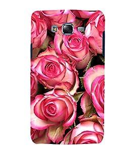 printtech Beautiful Rose Nature Back Case Cover for Samsung Galaxy E7 / Samsung Galaxy E7 E700F