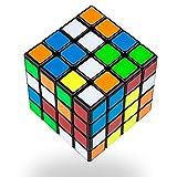 Buself Cubo di 4x4 Magico Originale Speedcube - Idea Regalo per Natale Compleanno Aziendale