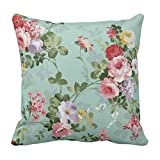 Best Throw Pillows - Yaya Cafe Printed Floral Flower Throw Cushions Pillow Review