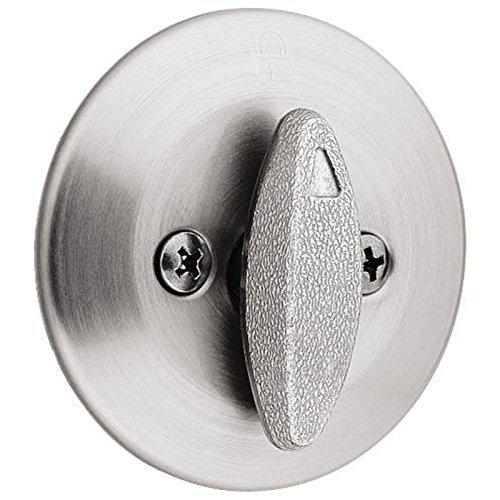 26d Satin Chrome Single (KWIKSET 663 26D Kwikset Single Sided Satin Chrome Deadbolt by Kwikset)