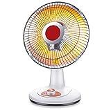 STEAM PANDA Riscaldatore Tubo alogeno per Uso Domestico The Little Sun 300w- 600w 220v Riscaldatore Elettrico Verticale Stufa Grill Elettrico Oscillazione oscillante a infrarossi Tilt Safety Cut off