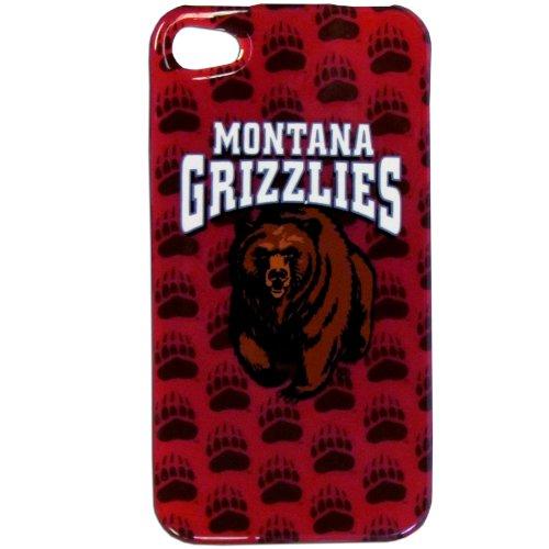 Siskiyou NCAA Montana Grizzlies Schutzhülle für iPhone 4G - Faceplate Apple Iphone Snap