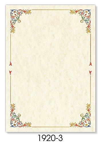Fogli pergamena 21x30 conf 12 ff