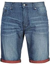 Amazon Short Corry Denim El azul Firetrap Xl qgIOdxIw