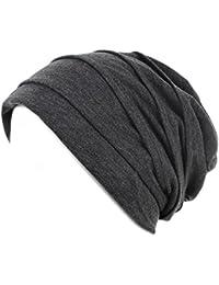 Distressed Long Beanie Slouch Unisex Baumwolle in versch. Designs und Farben