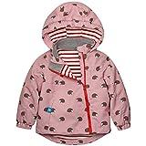 Catawe Kinder Jacke Mädchen Outdoorjacke Frühling Herbst Sommer Windjacke Regenjacke Doppeljacke Winter Skijacke - für Körpergröße 90-120cm