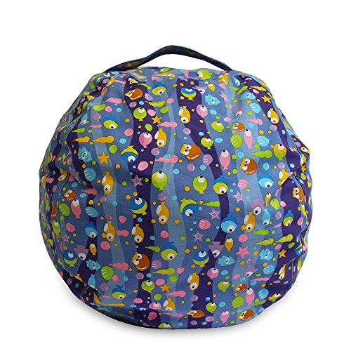bluesees Stofftier Sitzsack Storage Sack Groß Größe Baumwolle Kinder Plüsch Spielzeug Lösung...