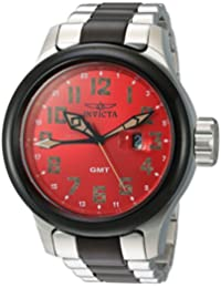 Invicta Men's 'Russian Diver' Swiss Quartz Stainless Steel Casual Watch, Color:Two Tone (Model: 22844)