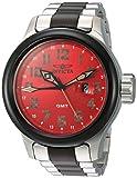 Die besten Invicta von 2 Töne - Invicta Herren Armbanduhr 'Russische Taucheruhr Schweizer Quarz-Edelstahl-Armbanduhr, Farbe: Bewertungen