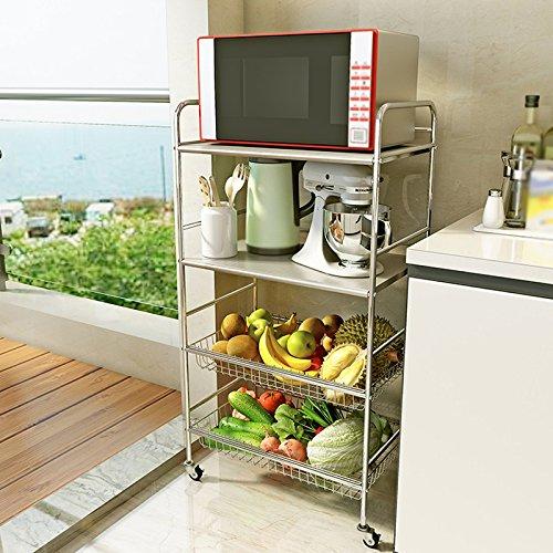 Mobili da cucina Scaffali da cucina semplici di grande capacità Lo ...