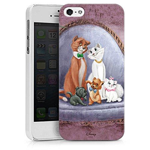 Apple iPhone X Silikon Hülle Case Schutzhülle Disney Aristocats Fanartikel Merchandise Hard Case weiß