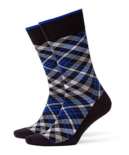 BURLINGTON Herren Socken Cadogan - 83% Baumwolle , 1 Paar, Schwarz (Black 3000), Größe: 40-46
