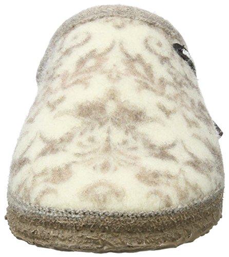 Giesswein Damen ELBTAL Pantoffeln Weiß (Natur)