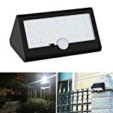 [Upgraded] 20 LED Solar Lights, Glamouric 4 Intelligent Modes Wireless Motion Sensor Weatherproof Outdoor Security Lamp Solar Powered Garden Path Wall Lights