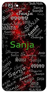 Sanja (God Universal Creator) Name & Sign Printed All over customize & Personalized!! Protective back cover for your Smart Phone : Moto X-Play