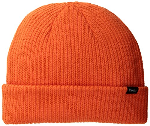 Vans Herren Strickmütze CORE Basics Beanie, Orange (Flame Flm), One Size