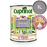 Best Fence Paints - Cuprinol CUPGSDG1L 1 Litre Garden Shades Paint Review