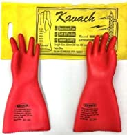Aktion Safety Electrical 11 KV Kavach Gloves EG-11KVA (Pack of 1)