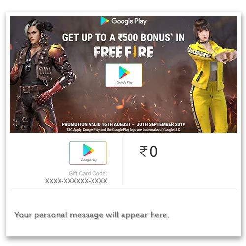 Google Play Gift Code - Digital Voucher: Amazon in: Gift Cards
