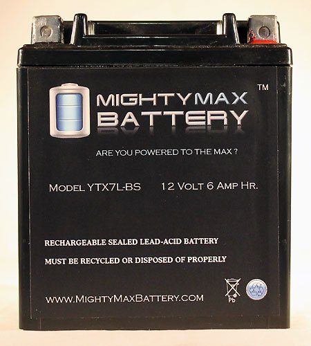 ytx7l-bs Akku Ersatz für Abenteuer, Power-Mighty Max Batterie Marke Produkt (Sea Doo Batterie)