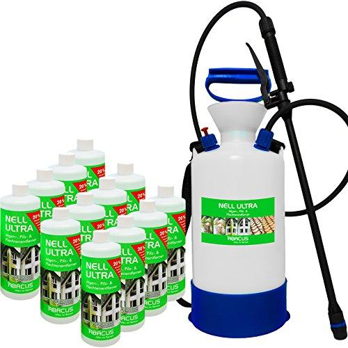 cemex-nell-ultra-algues-de-tresses-pilzentferner-12-l-set-avec-6-l-pulverisateur