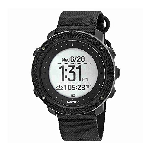 Suunto Traverse Alpha Stealth pour homme montre GPS de pêche et de chasse Ss022469000