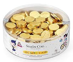 Idea Regalo - Monete d'oro di cioccolato 28 mm 300 pezzi