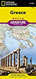 Greece Adventure Travel Map (National Geographic Adventure Map, Band 3316)