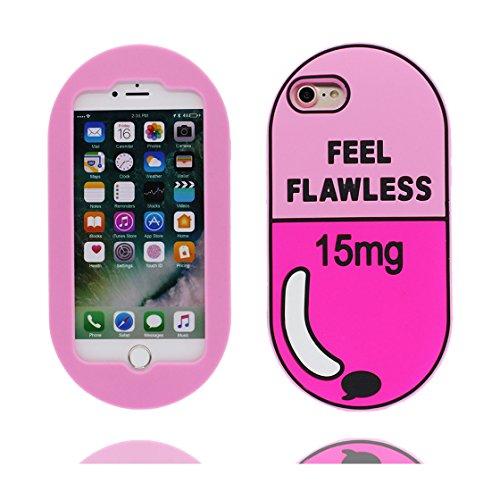 iPhone 7 Plus Custodia, iPhone 7 Plus Copertura 5.5, | TPU durevole Case Per le ragazze delle signore Ragazzi | Gomma morbida del gel/ Cover / evidente/ unicorno unicorn color 2