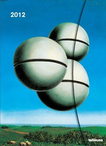 2012 Rene Magritte Magneto Diary Lg