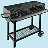 Barbecue a carbone El Gaucho Colorado 2 griglie da cm 41x27
