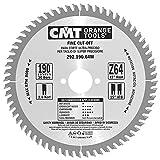 CMT 292.190.64M Lama Circolare per Taglio di Precisione per Macchine Portatili, Metallo/Grigio