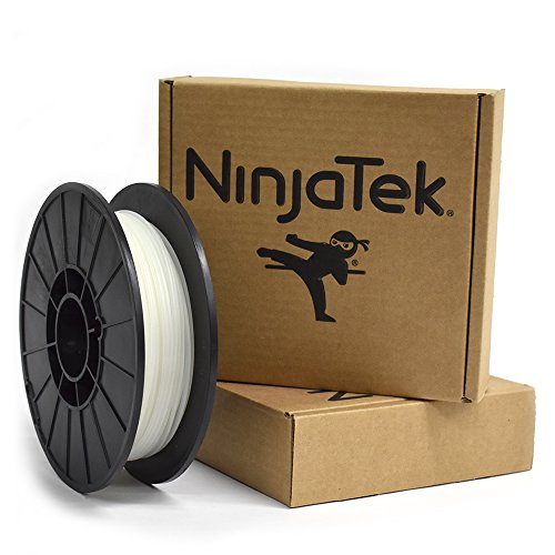 NinjaFlex 3D-Print Filament - 1.75mm - 0.5 kg - Water Semi-transparent
