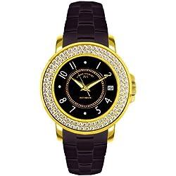 André Belfort Women's Aphrodite Watch 410111 Gold Zirconium No. 2