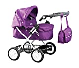 Silver Cross Ranger Pram Damson Doll (Toy)