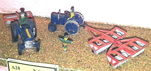 Langley Models Farm Maschinen Boden prep N Scale UNLACKIERTE Metall Modellbausatz A28 - Prep-farm