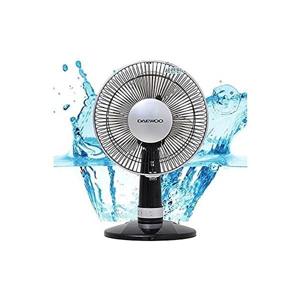 Daewoo-Electric-Fan-Portable-Cooling-Fan-for-Desk-9-inch-Blade-Black-DWF-de-rt2313-22OV