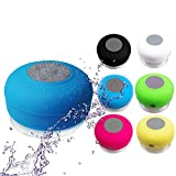Wireless-Bluetooth-Handsfree-Mic-Suction-Speaker-Shower-Car-Mini-HIFI-Waterproof-SpeakerBATHROOM-Shower-Speaker