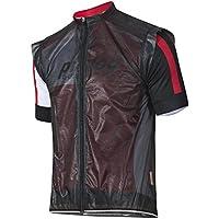 prolog cycling wear Fahrrad Regenweste mit überschnittenem Arm, Stoff ist wasserdicht und atmungsaktiv Unisex-Schnitt in Damen-, Herren-, Kindergrößen