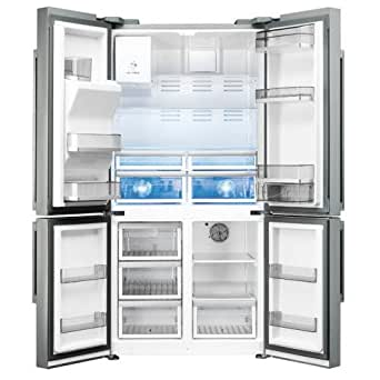 Smeg FQ75XPED frigo américain - frigos américains (Autonome, Acier inoxydable, Porte française, A+, LED, SN-T)