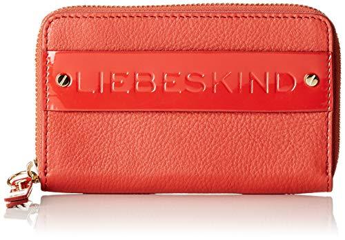 Liebeskind Berlin Damen Isabella F9 Soshopper Geldbörse, Rot (Hot Red), One Size -